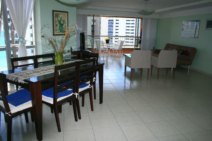 Ap/mobiliádo c/vista p/mar, 4 quartos - Jaboatão dos Guararapes - Leilighet