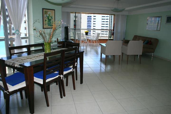 Ap/mobiliádo c/vista p/mar, 4 quartos
