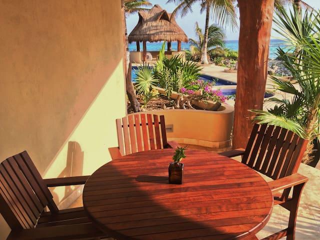 401 - Few feet from the Caribbean, pool, Jacuzzi - Mahahual - Apartamento