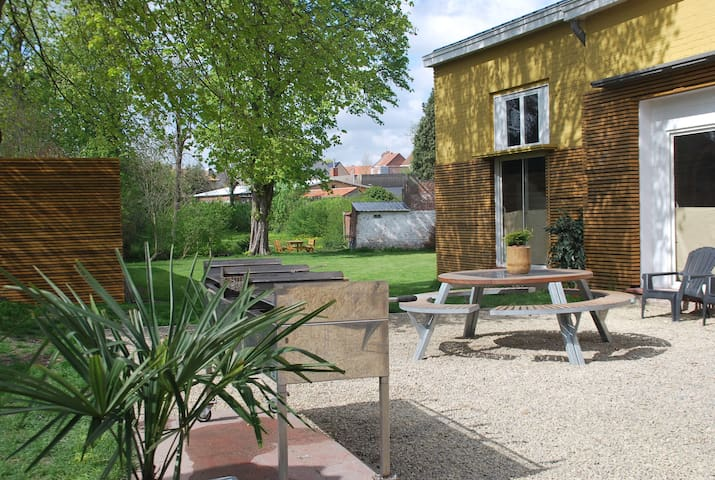 Holidayhouse for groups 26/28 pers. POPERINGE city - Poperinge - House