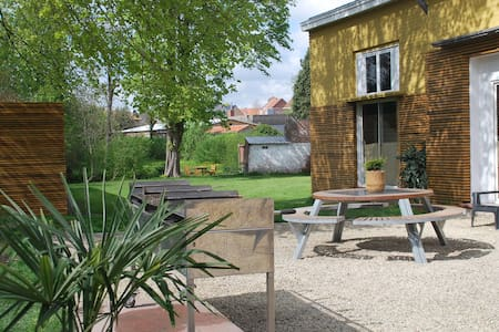Holidayhouse for groups 26/28 pers. POPERINGE city - Poperinge - Haus