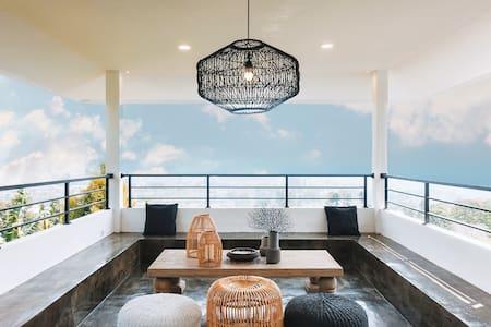 Eldorado Villa -Roof Top View,Private Cafe concept