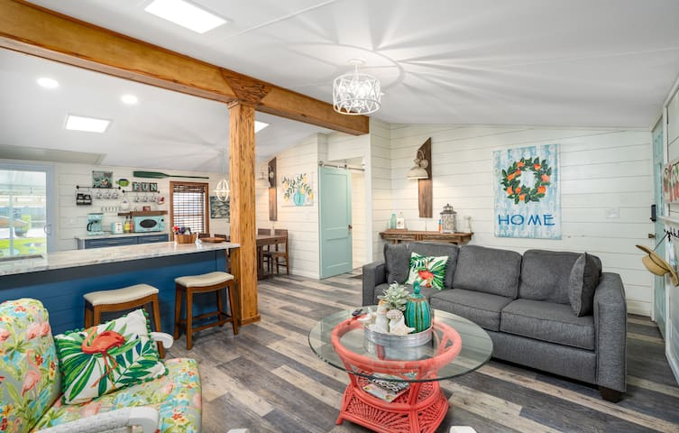 Bluefish Bungalow, a funky little beach cottage