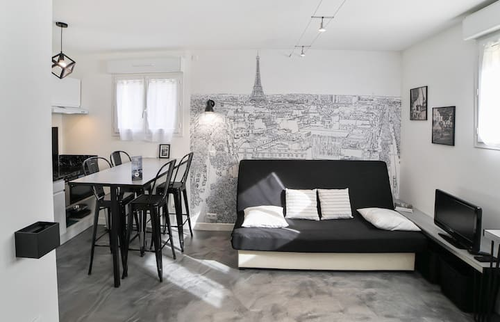 Charming and calm studio at the heart of Alfortville nearby Paris - Welkeys
