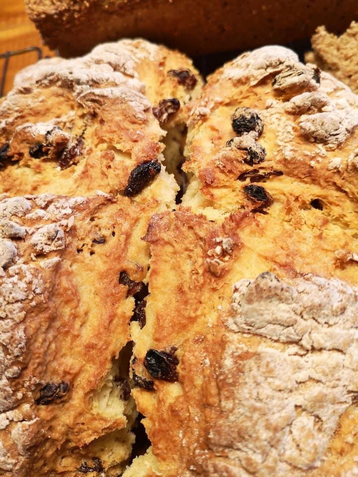 Freshly Baked Irish Soda Bread