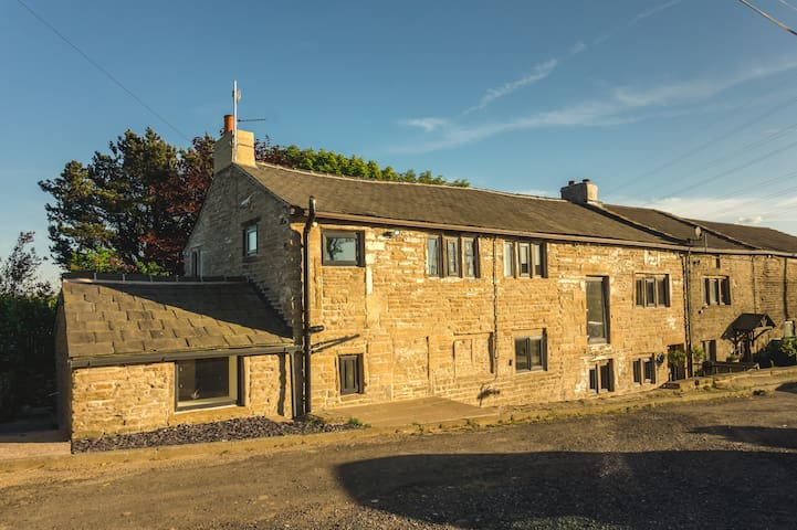 Luxury traditional stone farmhouse, stunning views