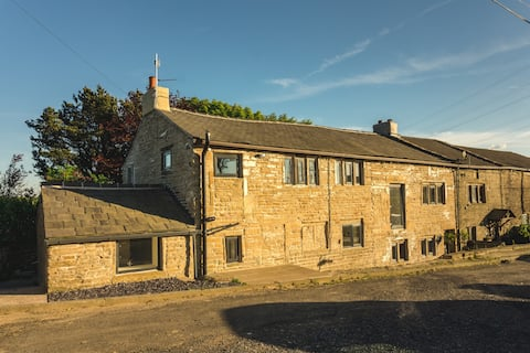 Luxury traditional stone farmhouse, stunning views