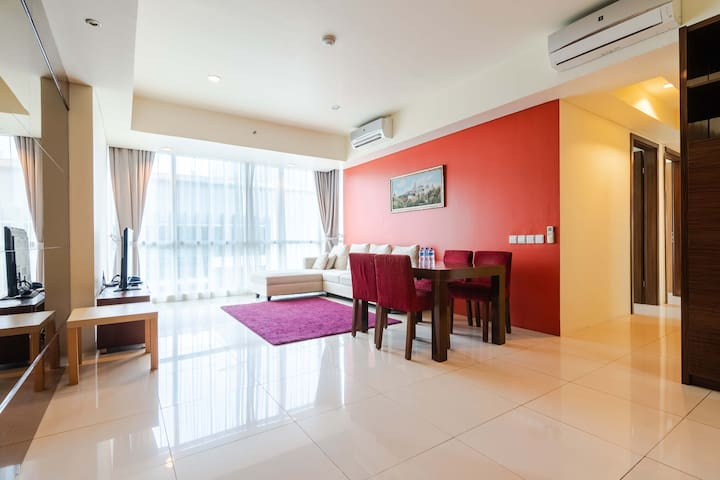 Luxury Apartmen with 3 Bedroom at Kemang village
