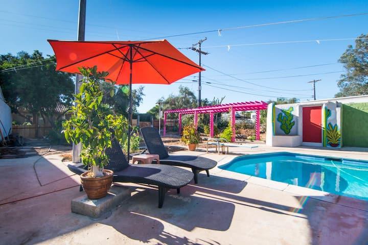 San Diego Bohemian Poolside Lounge @ Eden East