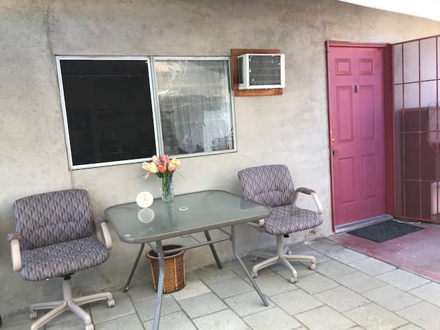 Studio Entrance with a Porch