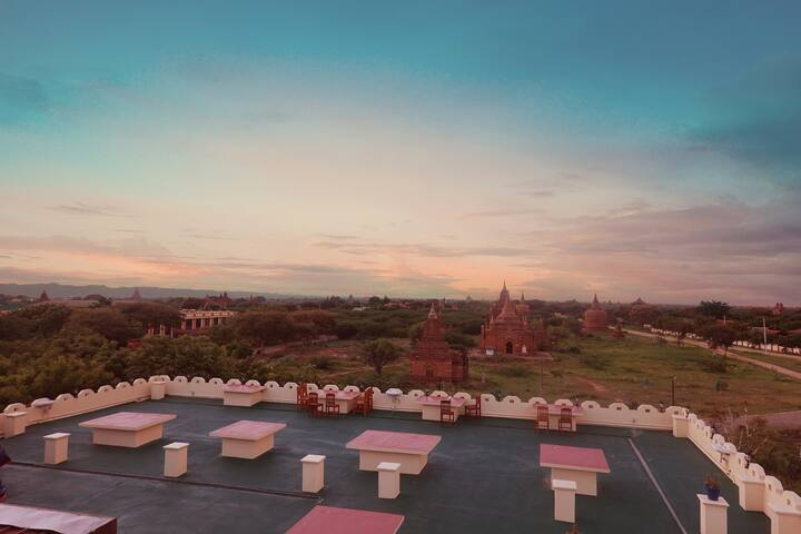 (BREATHTAKING VIEW) *Hotel Temple View Bagan*