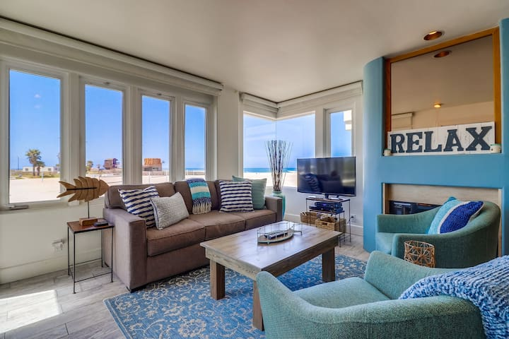 4 Bedroom Ocean Front in South Mission Beach