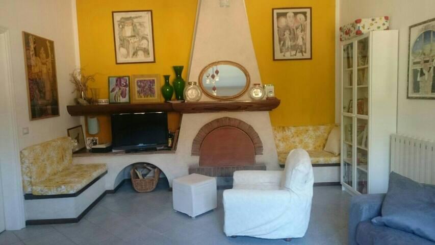 Il salotto.