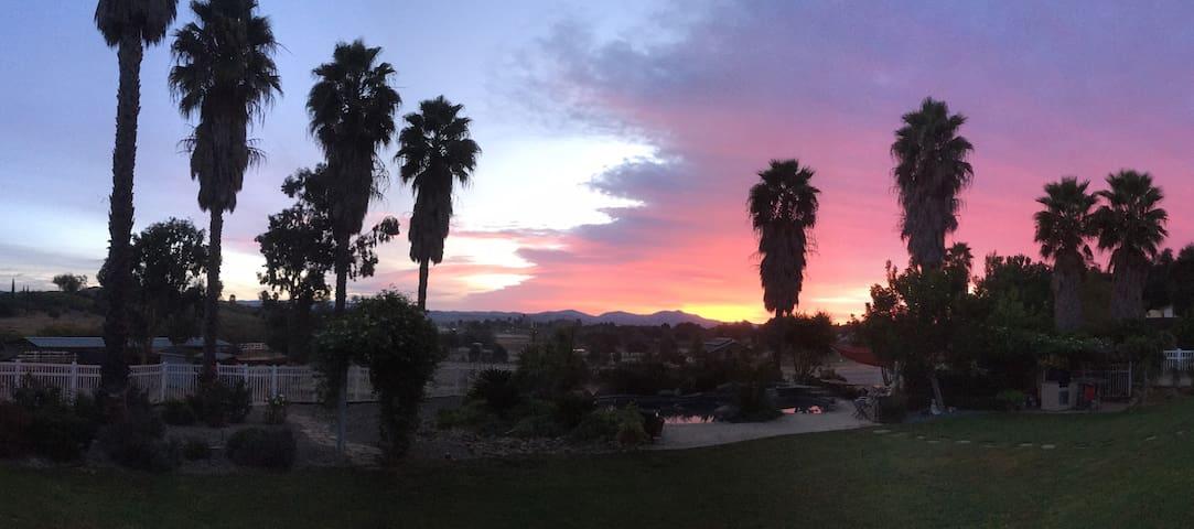 San Diego County/ Ramona Country Retreat