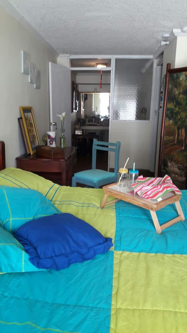 Habitación doble en casa compartida - GUEST HOME