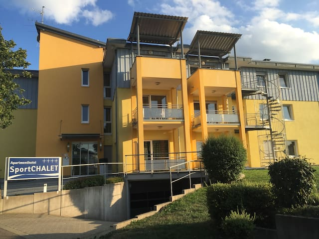 Apartmenthaus SportCHALET - 2-Zimmer-Apartment - Bad Dürrheim - Apartament