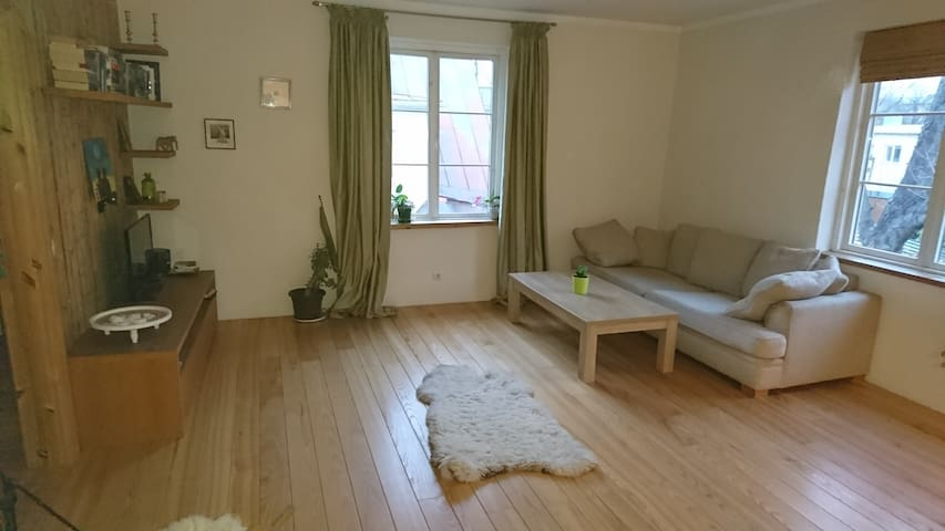 Great apartment in lovely wooden neighbourhood