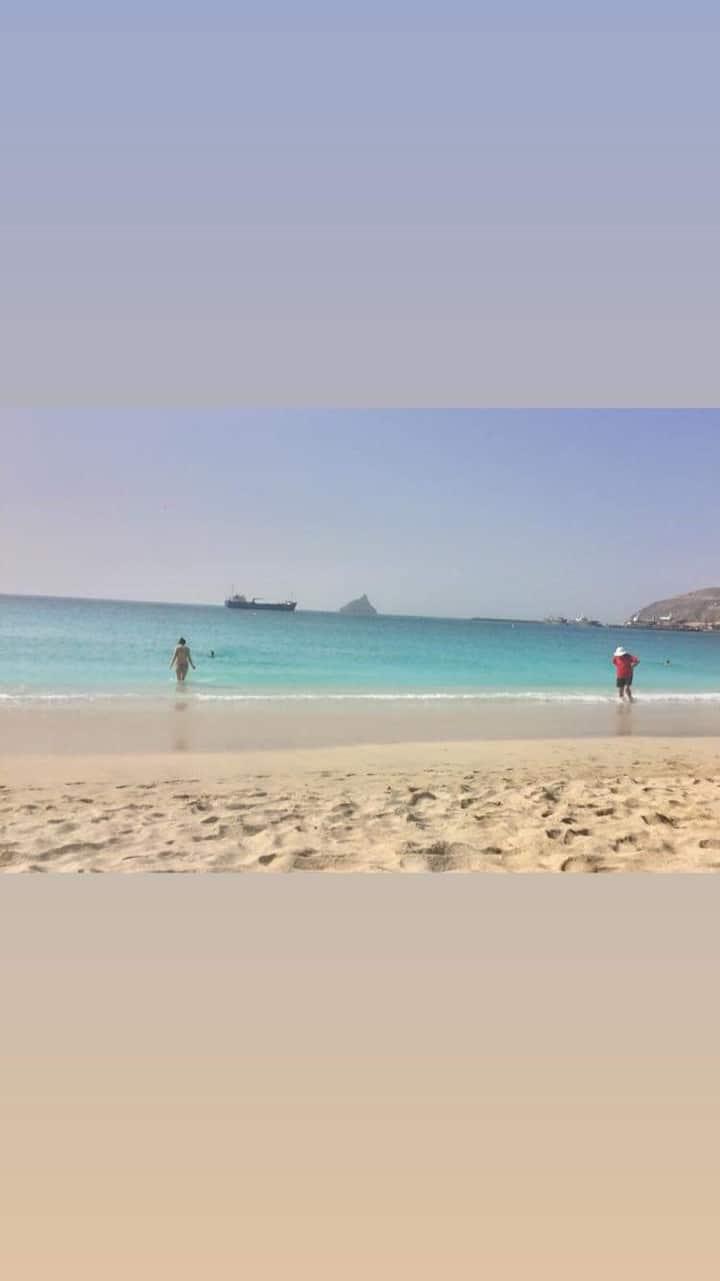 Disfrute a paradisíaca ilha de S. Vicente