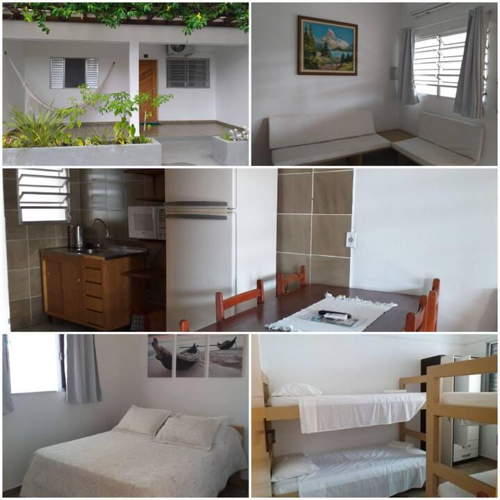 Flat com dois dormitórios