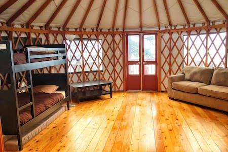 4. Large Ocean Front Yurt