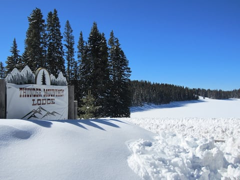 Cabin #6 at Thunder Mountain Lodge