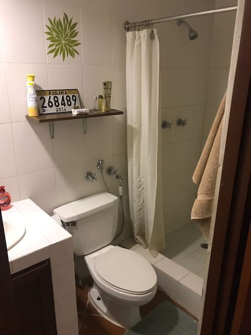Private Bathroom - Hot Shower