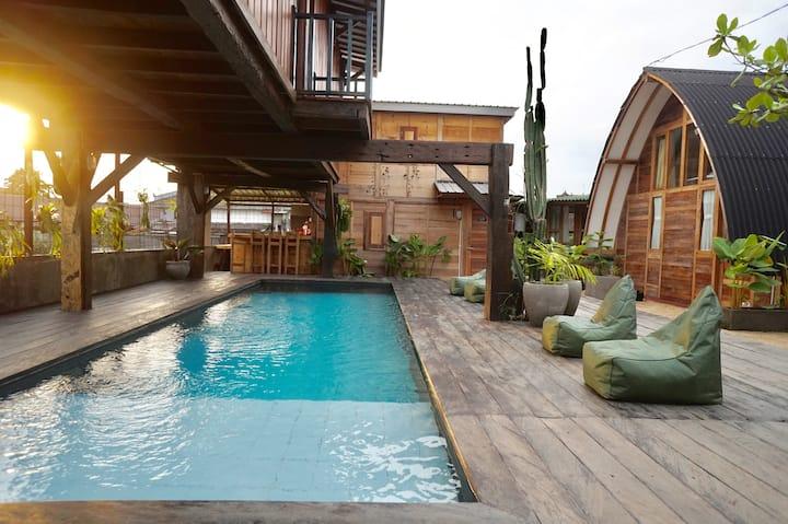 Unique architecture & design, Pool,  'Sanur room'