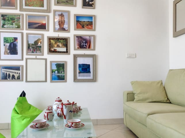 Chic flat w/WiFi near Montpellier - Le Crès - Apartment