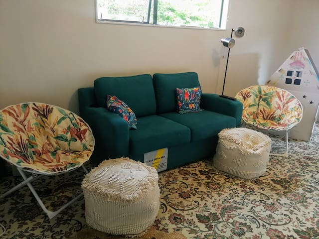 2nd  Lounge with sofa bed