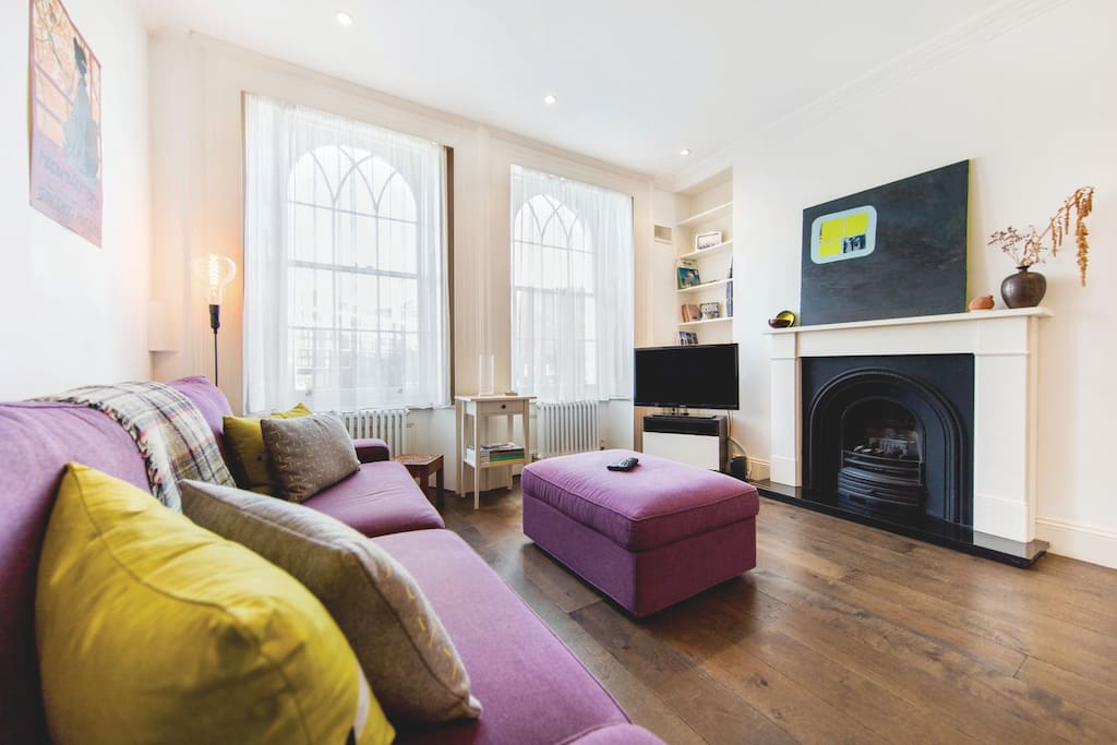 Funky 1 bed flat in shoreditch which sleeps 4 appartamenti in affitto a londra inghilterra - Posto letto a londra ...