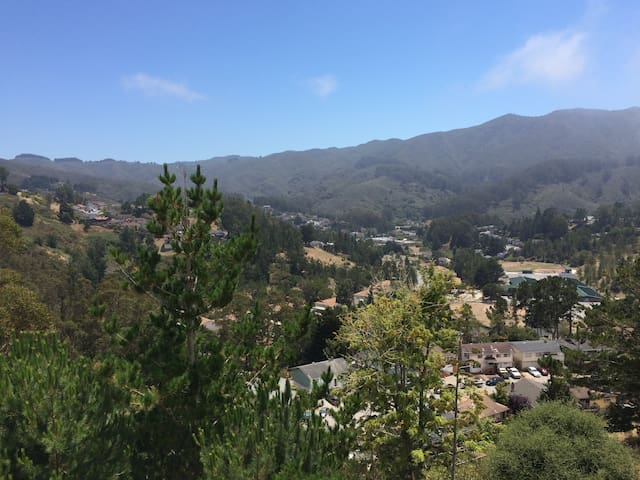 Beautiful mountain views - close to SF and SFO - Pacifica - Apartemen