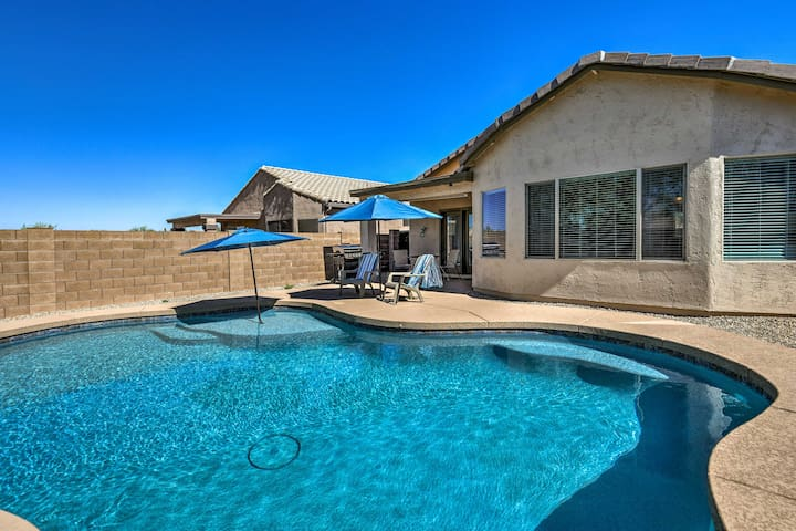 Gold Canyon Home w/Pvt Pool & Spacious Patio!