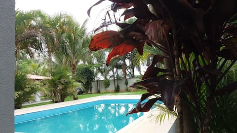 Chácara ampla e confortável em Santa Isabel, SP