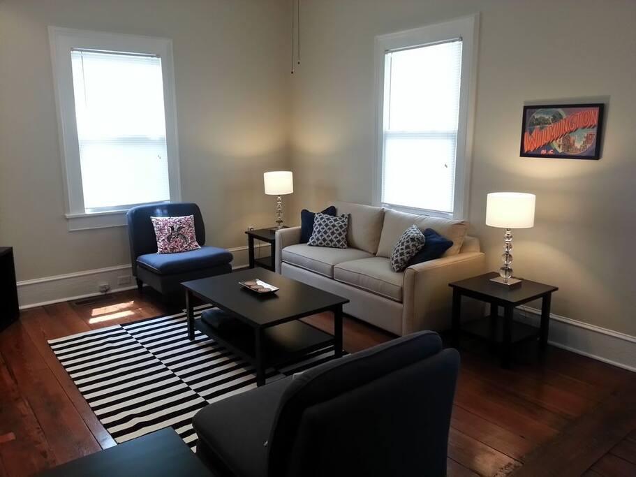 Living Room (queen sofa bed)