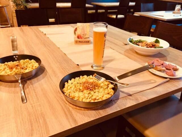4 Zi-Wohnung in ruhiger Lage mit Restaurant