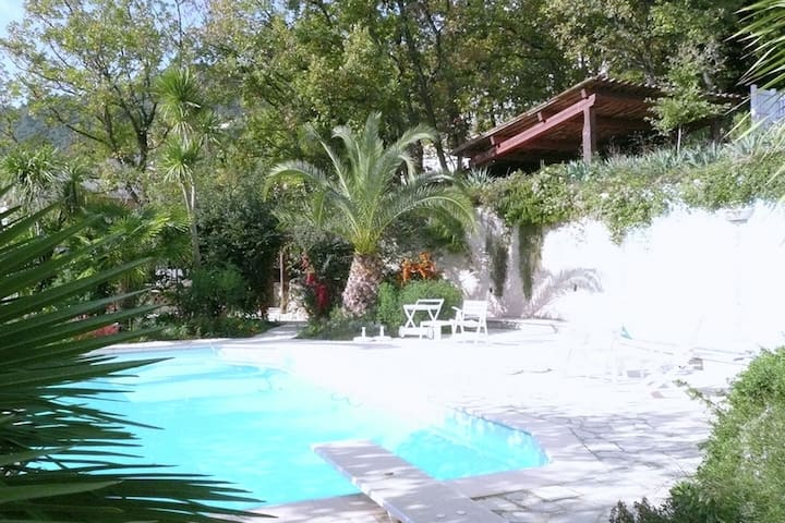 Splendid Holiday Home in Le Tignet South with Garden