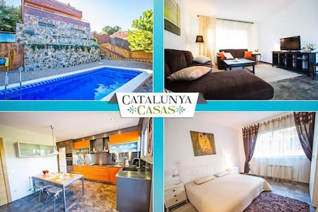 Modern Villa Tamarit for 8 guests, only 1km to the beaches of Costa Dorada! - Tarragona