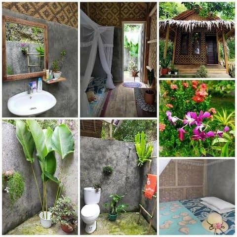 Kamar pribadi~ Anik Homestay Batukaras