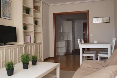 Céntrico y luminoso alojamiento en Logroño