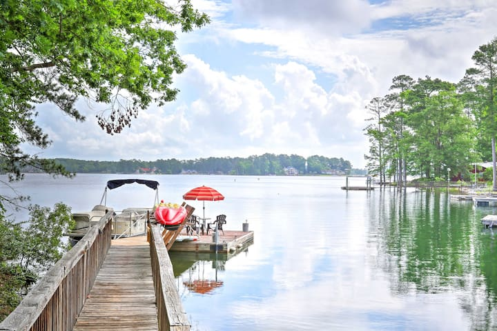 Hop in the water to swim or kayak with the kids.