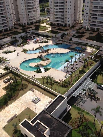 Quarto em Apartamento top business - São Bernardo do Campo - Lejlighed