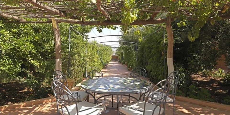 Beautiful organic farm retreat - Marrakesh - Pousada