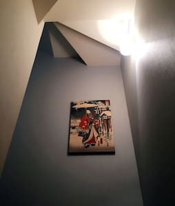 天王寺浮世绘主题房 四线地铁开张大优惠 免清洁费、免人头费 - Lägenhet