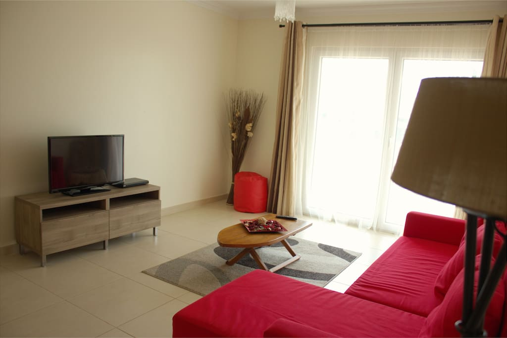 Lounge with tv and wifi