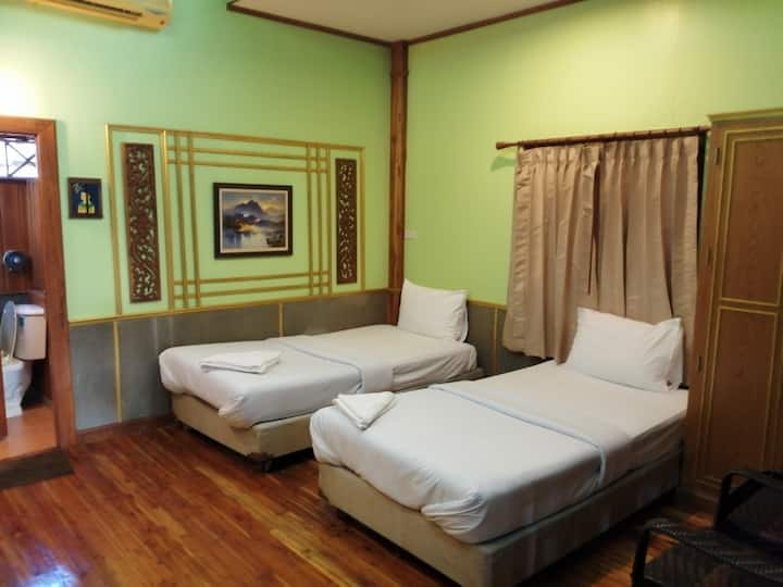 Superb Superior Twin Room at Nang Phraya Resort