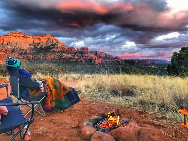 RentaTent-Desert Wild Night Adventure w/heat pack