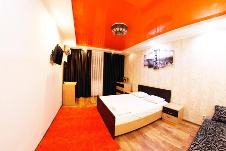 Уютная 1 Комн Квартира в центре города