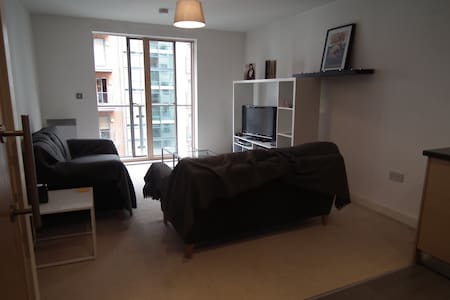 Two bed, two bath in the brilliant Green Quarter - Manchester