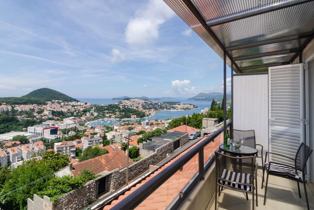 Elaphiti Islands view from balcony