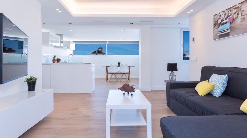 Ático con vistas al casco antiguo de Marbella! - Marbella - Apartment